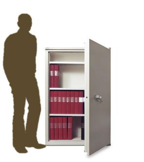 armoire ignifuge sa 330 pour protection de documents papier. Black Bedroom Furniture Sets. Home Design Ideas