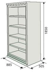 sa 460 armoire ignifuge pour protection de documents papier. Black Bedroom Furniture Sets. Home Design Ideas